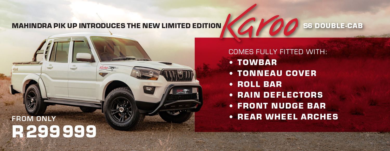 New Limited Edition Karoo